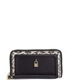 Juicy Couture Black Luxe Locks Wallet