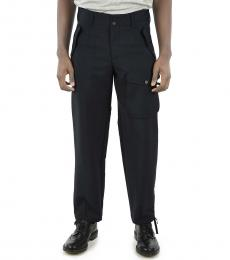 Dark Blue Belt Loops Pants