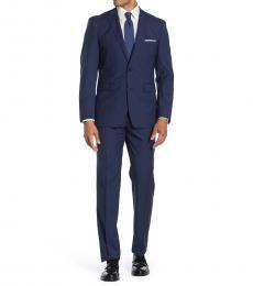 Vince Camuto Navy Blue Slim Fit 2-Piece Suit