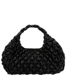 Valentino Garavani Black SpikeMe Large Hobo