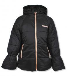 True Religion Girls Black Insulated Jacket