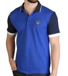 Emporio Armani Dark Blue Logo Patch Polo
