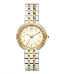 Tory Burch Silver Gold Bailey Watch