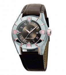 Brown Rock Crystal Watch