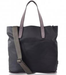 Dolce & Gabbana Dark Grey Shopper Large Tote