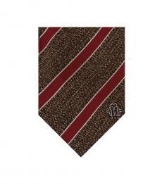 Brown Repp Tie