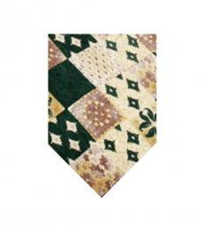 Green Dapper Print Tie