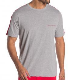 Calvin Klein Wolf Grey Side Stripe T-Shirt