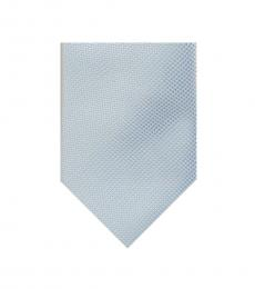 Michael Kors Light Blue Intricate Pebble Tie