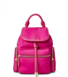 Deep Fuchsia Keely Small Backpack