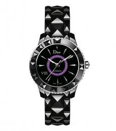 Christian Dior Black Ceramic Automatic Watch