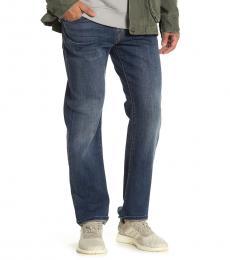 Lucky Brand Blue Original Straight Leg Jeans