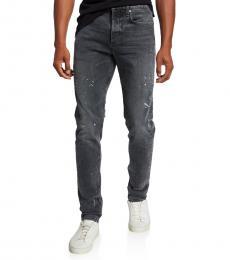 Rag And Bone Dark Grey Skinny Fit Jeans