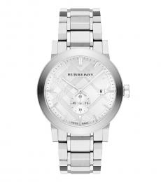 Burberry Silver The City Watch