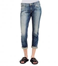 True Religion Distillery Wash Cameron Slim Boyfriend Stretch Jeans
