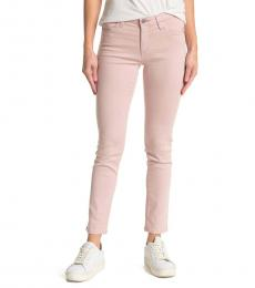AG Adriano Goldschmied Light Pink Prima Ankle Jeans