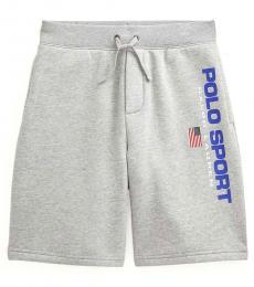 Ralph Lauren Boys Andover Polo Sport Fleece Short