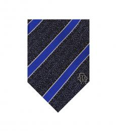 Blue Repp Tie
