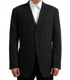 Armani Collezioni Grey Wool Blazer