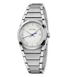 Silver Step Silver Dial Watch