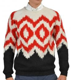 Multi color Crewneck Sweater