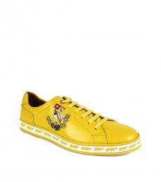 Bally Giallo Yellow Anistern Sneakers