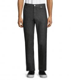 Versace Collection Dark Grey Straight Leg Jeans