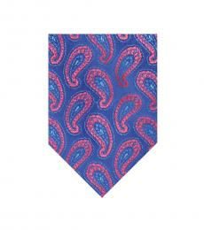 Ted Baker Blue Paisley Silk Tie