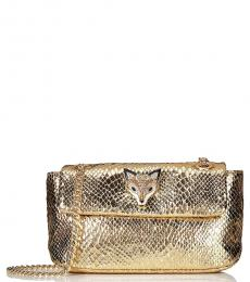Gold Slither and Shine Small Crossbody