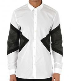White Slim Fit Modernist Shirt