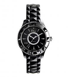 Christian Dior Black Diamond Automatic Watch