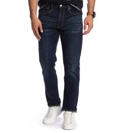 Lucky Brand Dark Blue Slim Straight Jeans