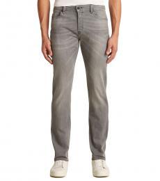 Diesel Light Grey Buster Skinny Jeans