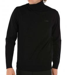 Dsquared2 Black Turtleneck Sweater