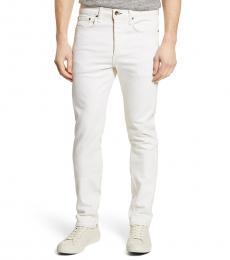 Rag And Bone White Slim Fit Jeans