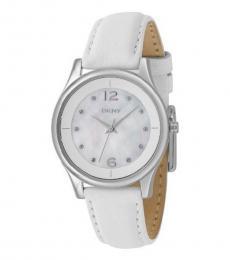 DKNY White Logo Dial Watch