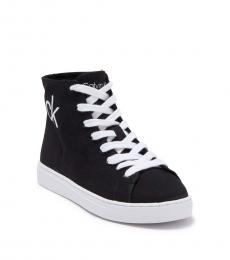 Calvin Klein Black Gigi High-Top Sneakers