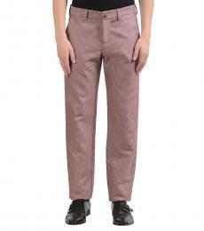 Versace Jeans Multicolor Flat Front Dress Pants