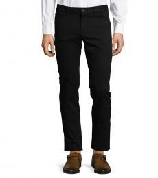 Black Parker Slim-Fit-Twill Pants