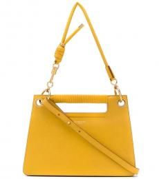 Givenchy Yellow Whip Large Shoulder Bag