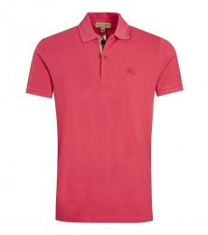 Burberry Raspberry Sorbet Classic Fit Polo