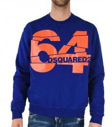 Dsquared2 Dark Blue Round Necked Sweatshirt