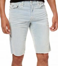 True Religion Blue Tropics Corduroy Shorts