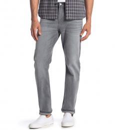 7 For All Mankind Grey Austyn Skinny Jeans