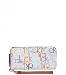 White Multi Continental Wallet