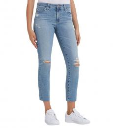 Denim Prima Crop Skinny Jeans