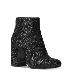Michael Kors Black Arabella Glitter Boots
