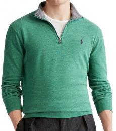 Ralph Lauren Green Luxury Jersey Pullover