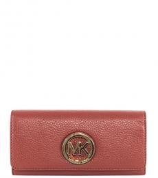 Michael Kors Brick Fulton Flap Wallet