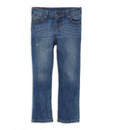 True Religion Little Boys Classis Blue Geno Jeans